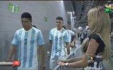 Messi'nin Güzel Sunucu Ines Sainz'ı Umursamaması
