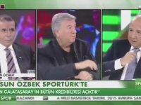 Dursun Özbek'ten Canlı Yayında Denayer Gafı