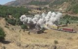 Terörist Kamerasından Trene Saldırı Anı