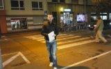 Almanya'da Trafik Kültürü  Yaya Geçidi