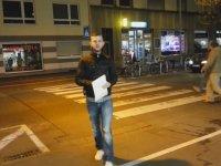 Almanya'da Trafik Kültürü - Yaya Geçidi