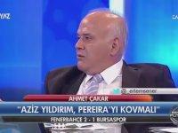 Ahmet Çakar'ın Ertem Şener'e Atarlanması