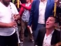 Bursa Metrosunda Davullu Zurnalı Yolculuk