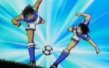 Tsubasa ve Kojiro'nun Birlikte Vurduğu Aşırtma ve Kaplan Şutu