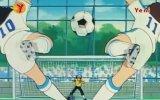 Tsubasa ve Misaki'nin Birlikte Attığı Gol  Twin Vuruşu