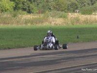 Asfaltı Ağlatan 230 Beygirlik Karting Aracı