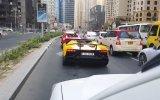 Lamborghini'si Yanan Dubailinin Durumu İplememesi