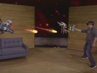 Microsoft HoloLens ile Holografik Robot'un SavaşI