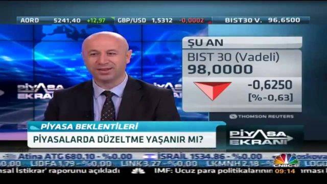 08.10.2015 - CNBC-e - Piyasa Ekranı - GCM Menkul Kıymetler Araştırma Direktörü Erdoğan Turan