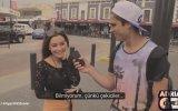 Kadınlar Neden Kaslı Erkekleri Sever  Sokak Röportajı İngilizce