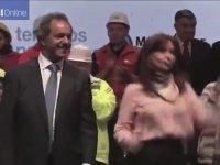 Arjantin Liderinin Çılgınca Dans Etmesi