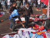 Ankara Tren Garında Yaşanan Patlamanın Hemen Sonrası 2 (+18)