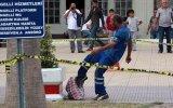 Şüpheli Bomba Paketine Tekme Atan Vatandaş  Adana