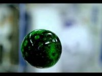Uzay İstasyonunda Su Topu Gösterisi