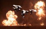Drone ile Havadan Makineli Tüfek Etkinliği