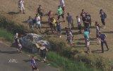 Helikopter Kamerasından Feci Kaza Anı