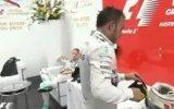 Lewis Hamilton'ın Şakasının Nico Rosberg'i Kızdırması