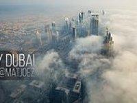Büyüleyici Timelapse Görüntüleriyle Dubai Manzarası