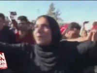 Kamplarındaki Suriyelilerin AKP'nin Seçim Zaferi Kutlaması