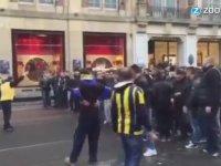 Fenerbahçe Taraftarının Amsterdam'da Olay Çıkartması!