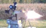 27.000 Jul Güçle Mermi Atan Ev Yapımı Makineli Tüfek