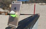 iPhone 6S'e Okla Vurulma Testi