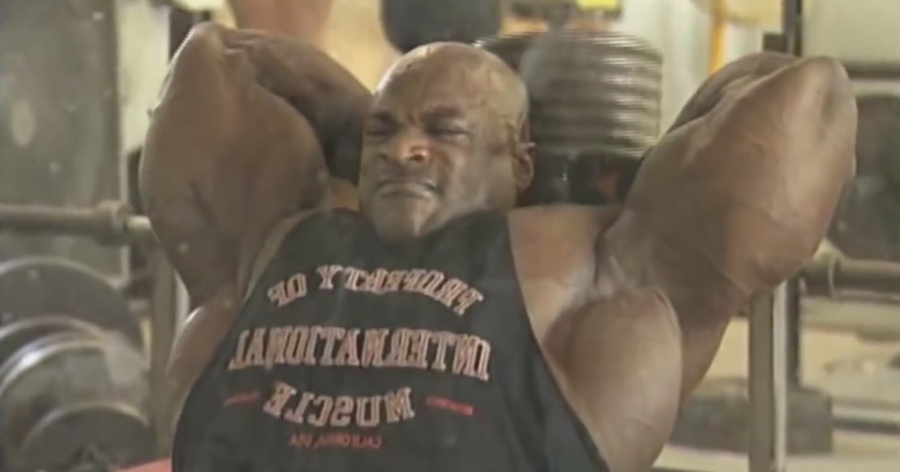 ronnie coleman 2015 malade