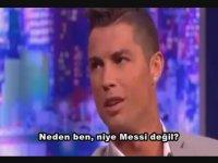 Cristiano Ronaldo'dan Messi Sorusu İle İlgili Alkış Alınacak Cevap