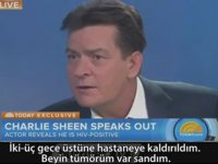Evet HIV Pozitifim - Charlie Sheen