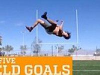 Amerikan Futbol Topuyla Yapılan Harika 5 Hareket