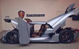 Transformers'tan Hallice Koenigsegg Regera