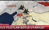Türk Pilotlarımız Rus Pilotları Uyardığı Anlar
