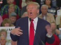 ABD Başkan Adayı Donald Trump'ın Engelli Muhabirle Alay Etmesi