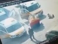 Diyarbakır Sur'da  gerçekleşen çatışma anı