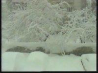 Unutulmaz 1987 Kışı Kar Görüntüleri
