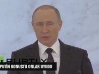 Putin'in Uyutan Konuşması