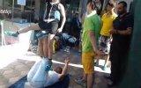 Ayakta Çocuk Sektirmek  Sincan