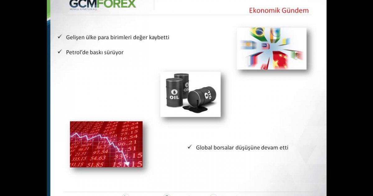 Gcm forex piyasa analizi
