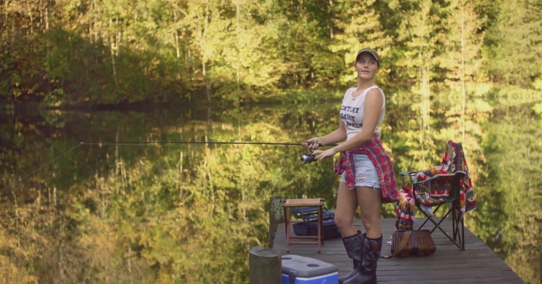 Maddie tae shut up and fish for Shut up and fish