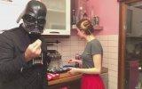 Darth Vader ile Star Wars Keki Yapımı