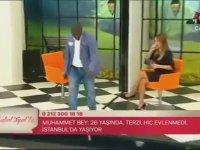 Zuhal Topal'la Hüseyin Bey Senegal Yerli Dansı