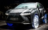 Lexus'a Buzdan Yapılmış Lastik Takmak