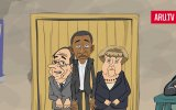 Ruslar'ın Erdoğan  Putin Çizgi Filmi