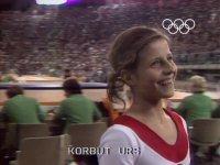 Taklacı Güvercin  Olga Korbut  ( Munih 1972 Olimpiyatları )