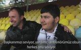 Altay Tribününde Oğlunun Gözleri Olan  Baba