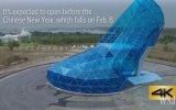 Tayvan'da Dev Topuklu Ayakkabı Şeklinde Kilise İnşa Edilmesi