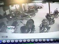 Motosiklet Hırsızı - Hidden Cam
