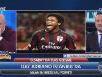 Luiz Adriano Maçtayken İstanbul'a Getiren Sinan Engin!