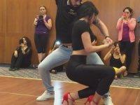 Grinin Elli Tonu'nun Sountrack'ı ile Bachata Dansı