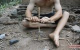 Doğadan İlkel Aletlerle Matkap Yapımı